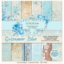 Set of scrapbooking papers - Gossamer Blue