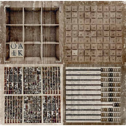 Scrapberry's - Scrapbooking paper - Words Live Forever - Archive and Abacus