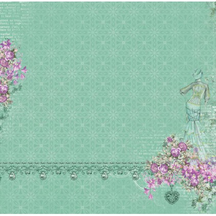 Scrapberry's - Scrapbooking paper - Cherished Jewels - Sparkling Elegance