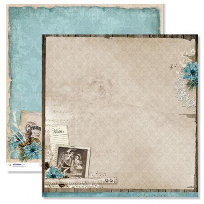 Studio Light - Scrapbooking paper - Winter Memories 03