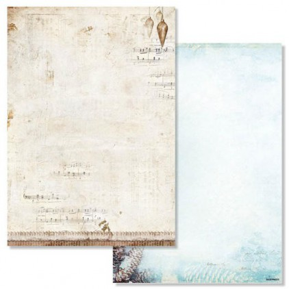 Studio Light - Scrapbooking paper - Winter Memories 203 - A4 Sheet