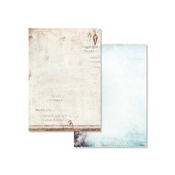 Studio Light - Scrapbooking paper - Winter Memories 203 - A4 Sheet