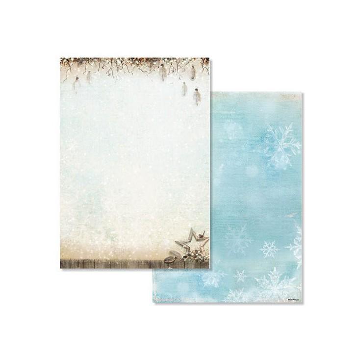 Studio Light - Scrapbooking paper - Winter Memories 202 - A4 Sheet