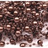 Beaded Garland Ø7mm length 130cm - brown