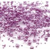 Beaded Garland Ø7mm length 130cm - light violet
