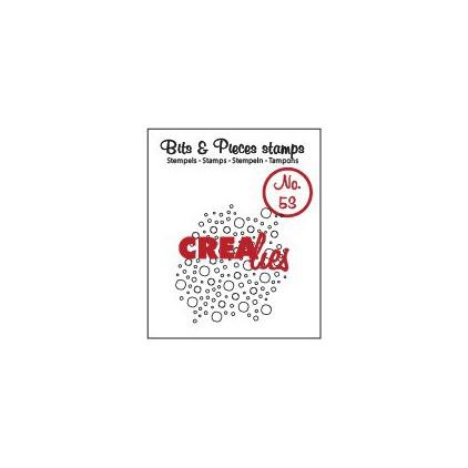 Stempel silikonowy - Bąbelki - Crealies - Bits & Pieces no. 53