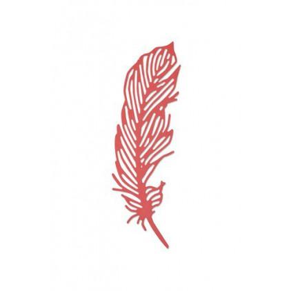 Wykrojnik Piórko - Sizzix Thinlits Die - Delicate feather 661682