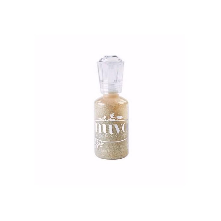 Nuvo - Brokat w kleju - Honey Gold