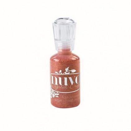 Nuvo - Brokat w kleju - Orange Soda