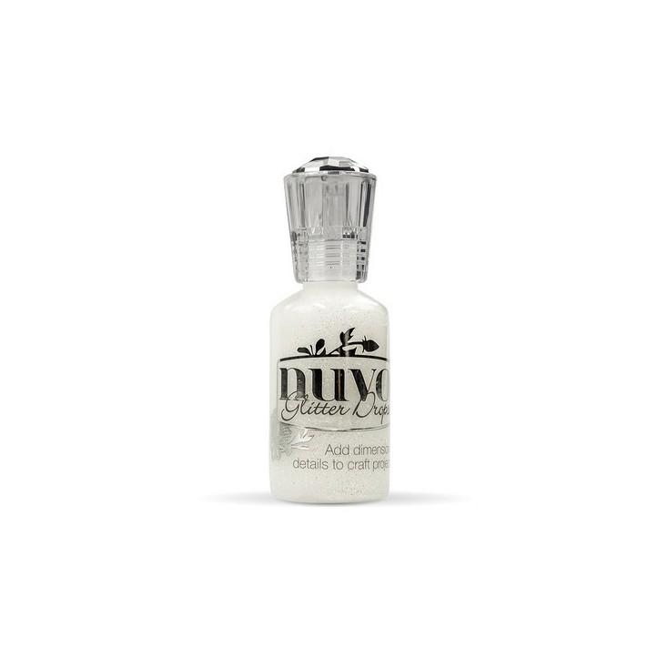Glitter Drops - Nuvo - White Blizzard 758N