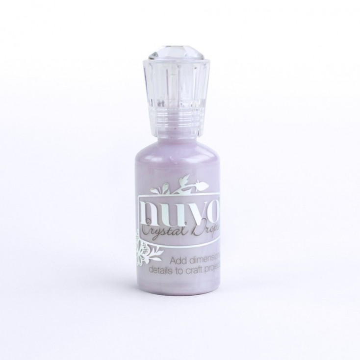 Nuvo - Crystal Drops - wisteria purple 658N