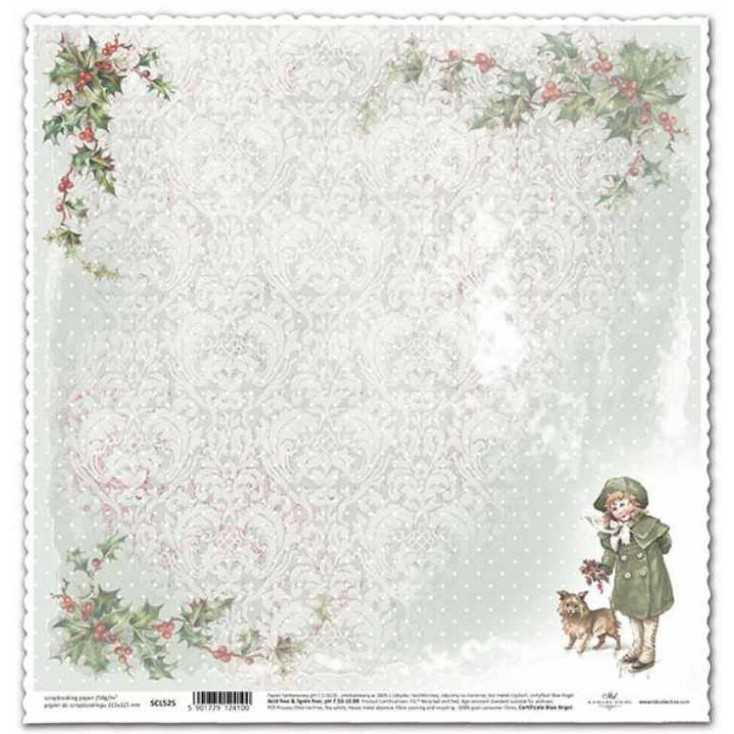 ITD Collection - Scrapbooking paper - SCL525