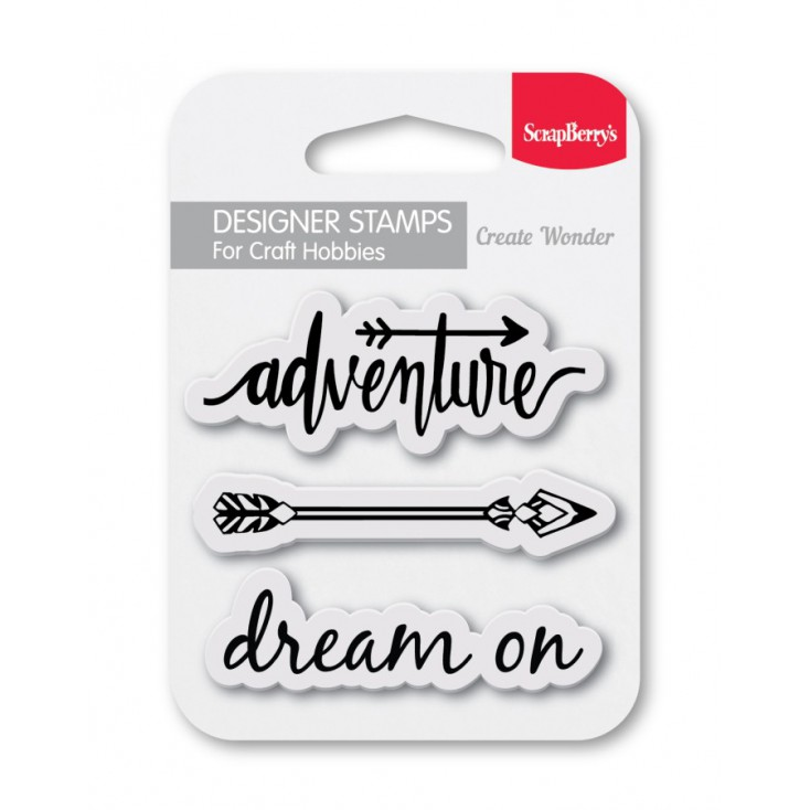 Set of clear stamps - ScrapBerry's - Dream On