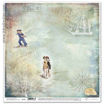 ITD Collection - Scrapbooking paper - SCL559