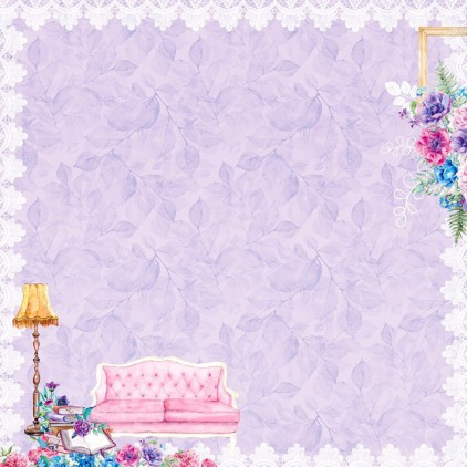 Scrapbooking paper - Scrapberry's Home Sweet Home - Home Sweet Home