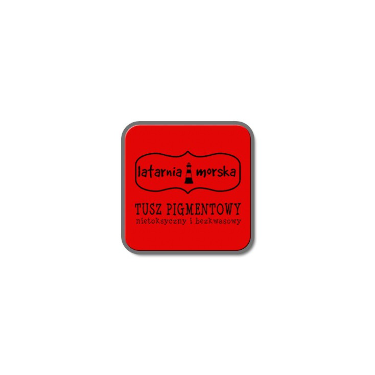 Pigment ink pad for stamping and embossing - Red