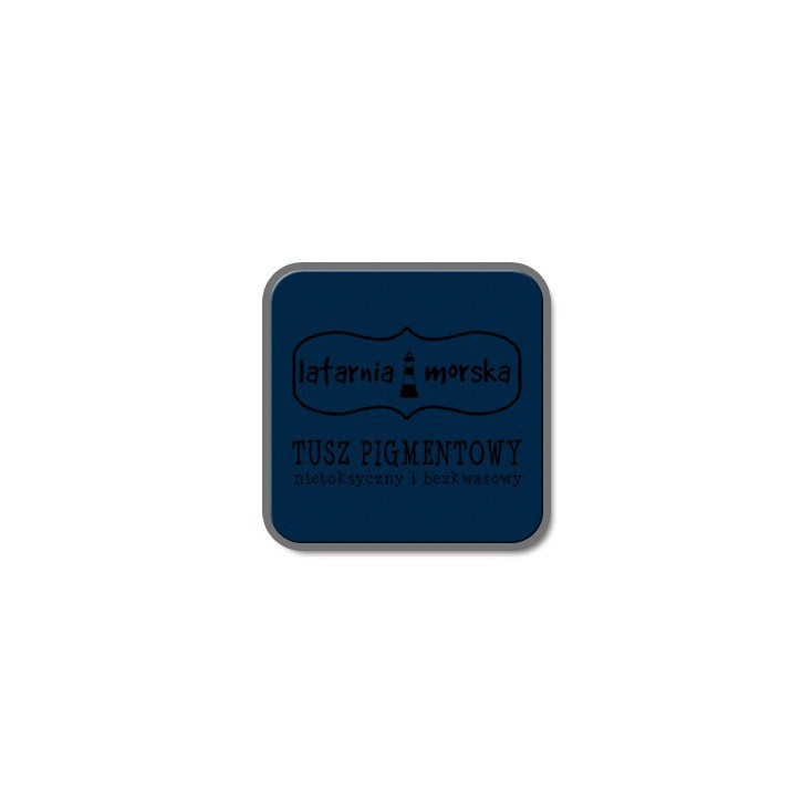 Pigment ink pad for stamping and embossing - Navy