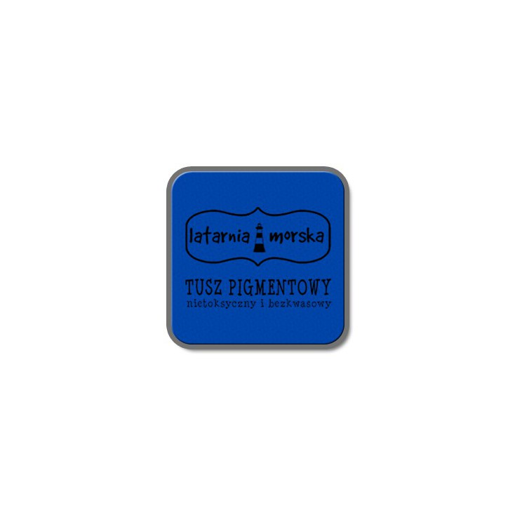 Pigment ink pad for stamping and embossing - Blue