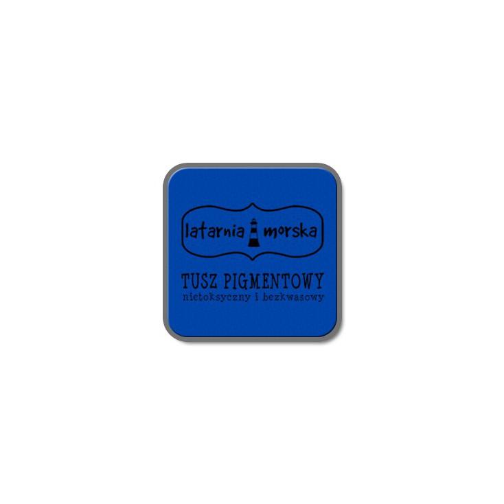 Tusz pigmentowy do stempli i embossingu - Niebieski