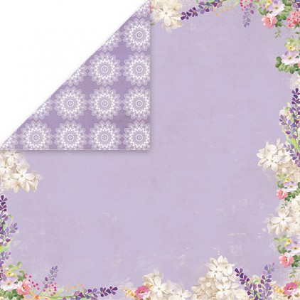Papier do scrapbookingu - Craft and You Design - Lavender Garden - 03