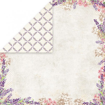 Scrapbooking paper - Craft and You Design - Lavender Garden - 02
