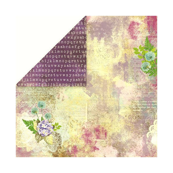 Papier do scrapbookingu - Craft and You Design - I love Vintage 02