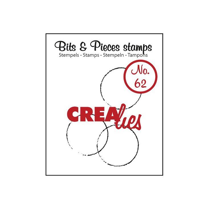 Stempel silikonowy - Kółka - Crealies - Bits & Pieces no. 62