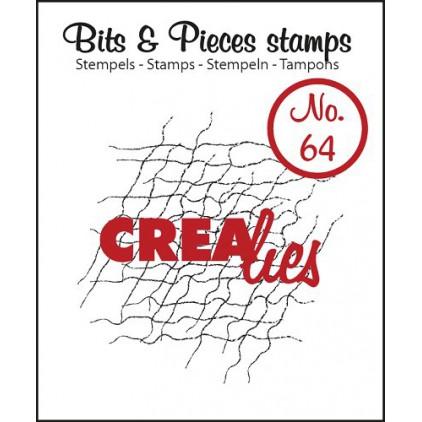 Stempel silikonowy - Siatka - Crealies - Bits & Pieces no. 64