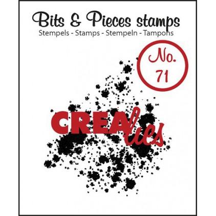 Stempel silikonowy - Kleksy - Crealies - Bits & Pieces no. 71