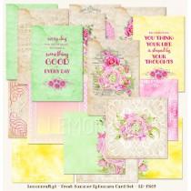 Fresh Summer - Ephemera cards