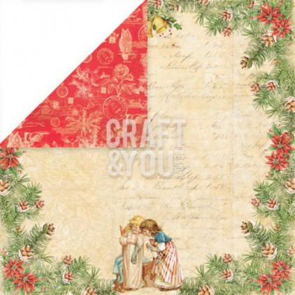 Craft and You Design - Scrapbooking paper - Christmas Story - 02