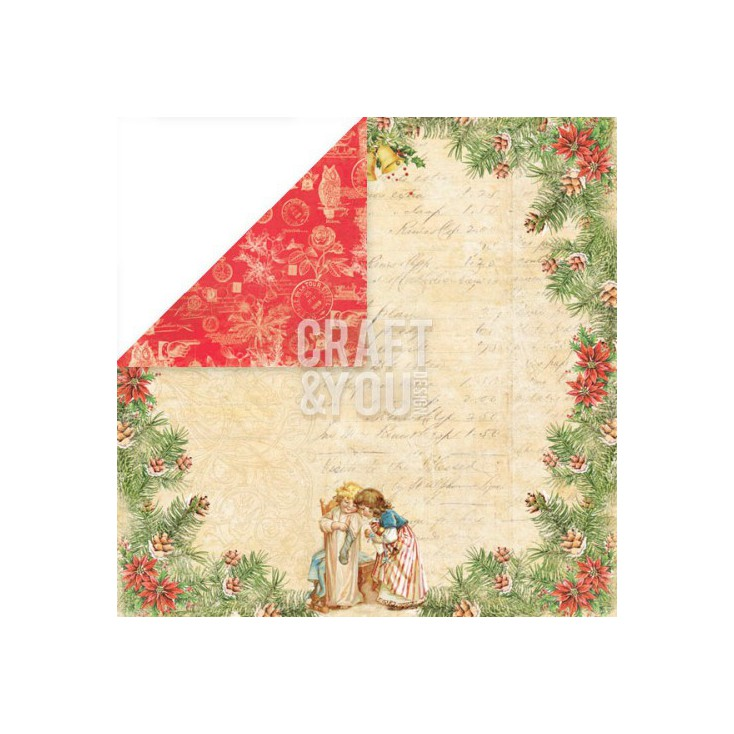 Craft and You Design - Papier do scrapbookingu - Christmas Story - 02