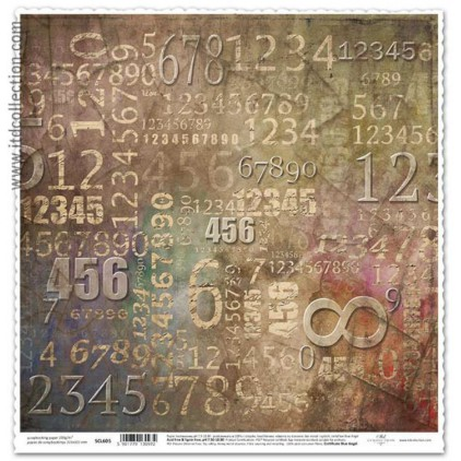 ITD Collection - Scrapbooking paper - SCL605