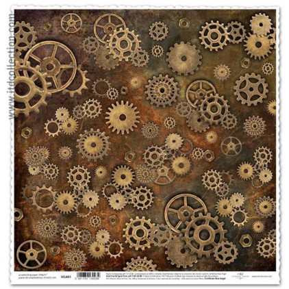 ITD Collection - Papier do scrapbookingu - SCL603