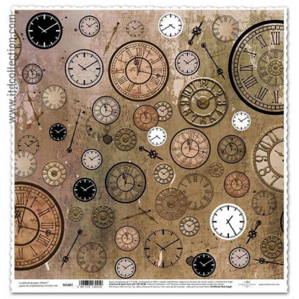 ITD Collection - Scrapbooking paper - SCL602