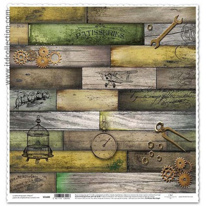 ITD Collection - Scrapbooking paper -  SCL600