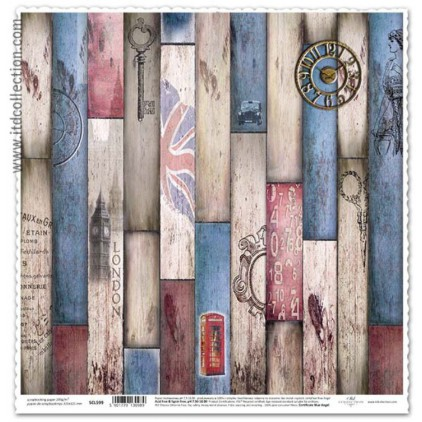 ITD Collection - Scrapbooking paper - SCL599