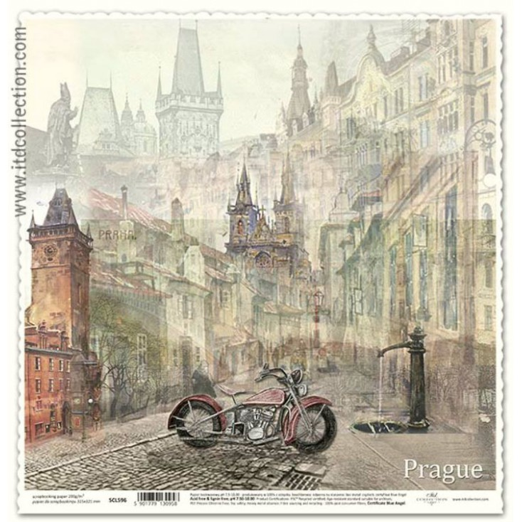 ITD Collection - Scrapbooking paper - SCL596