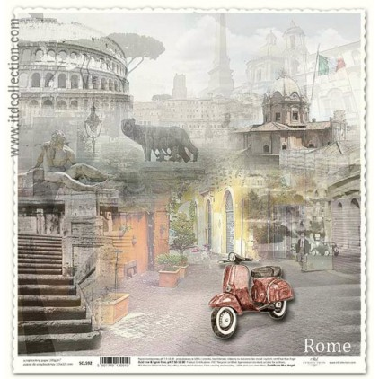 ITD Collection - Scrapbooking paper - SCL592