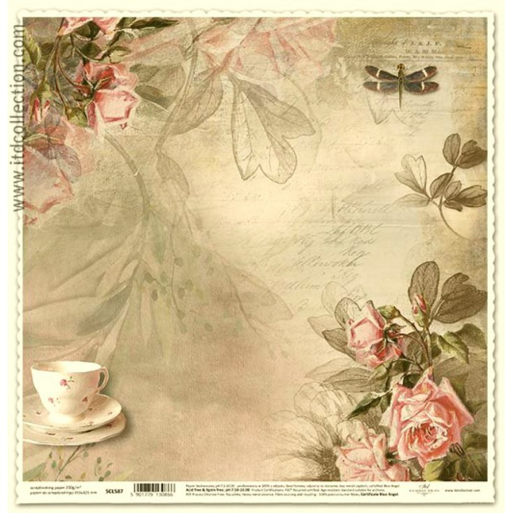 ITD Collection - Scrapbooking paper -  SCL587