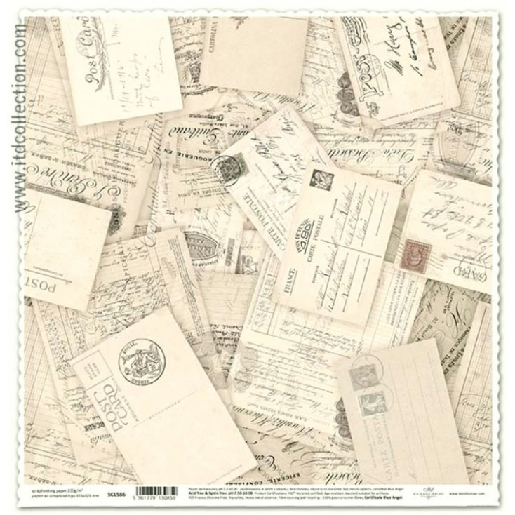ITD Collection - Papier do scrapbookingu - SCL586