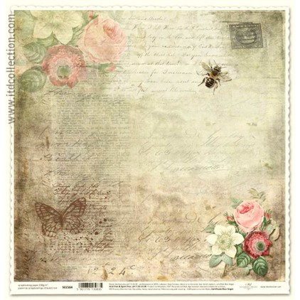 ITD Collection - Papier do scrapbookingu - SCL584