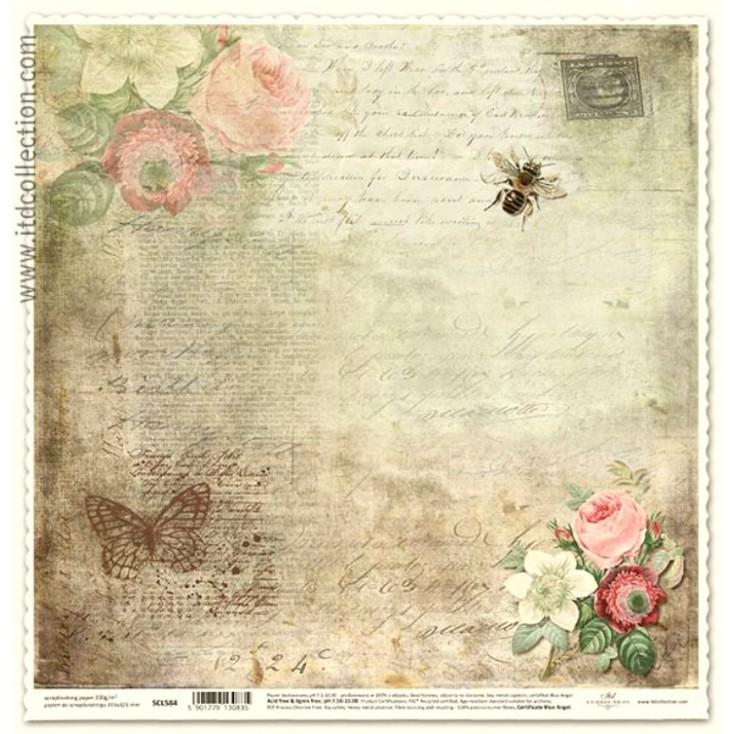 ITD Collection - Papier do scrapbookingu - SCL584