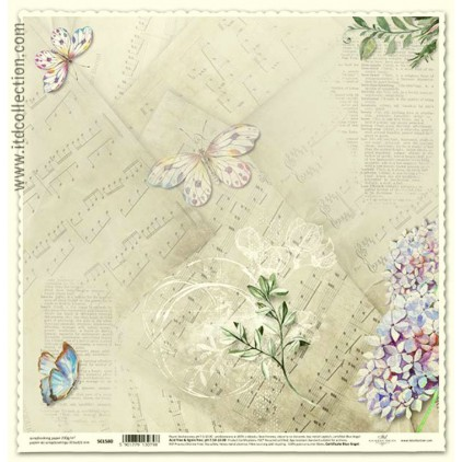 ITD Collection - Scrapbooking paper - SCL580