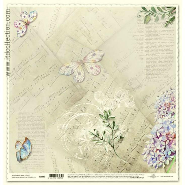 ITD Collection - Papier do scrapbookingu - SCL580