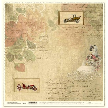 ITD Collection - Scrapbooking paper -  SCL578