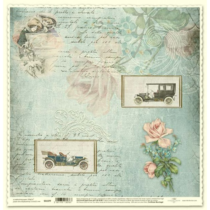 ITD Collection - Scrapbooking paper - SCL577