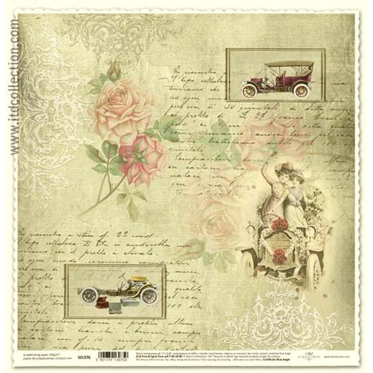 ITD Collection - Papier do scrapbookingu - SCL576
