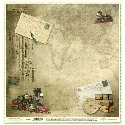 ITD Collection - Papier do scrapbookingu - SCL572