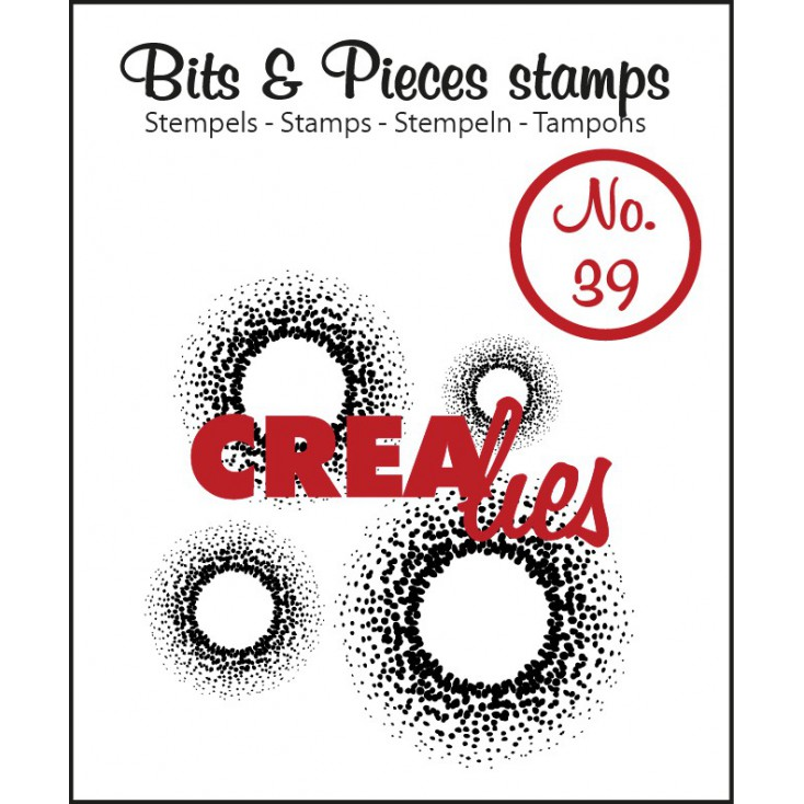 Clear stamp Crealies - Bits & Pieces no. 39